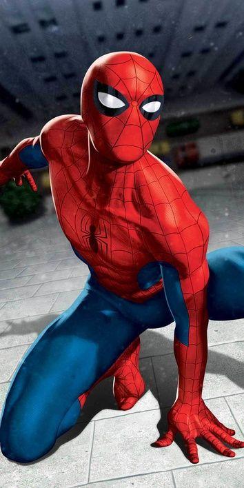 "Spider-man ""Blue 03"" osuška obrázek 1"