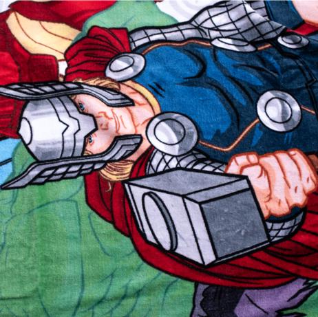 "Avengers ""White"" beach towel image 4"