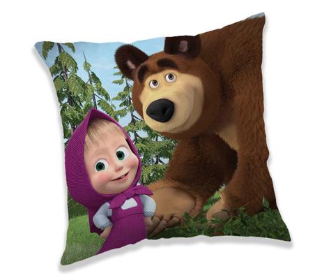 """Masha and the Bear """"Forest 02"""" cushion image 1"""
