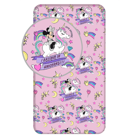 "Minnie ""Unicorn 02"" fitted sheet image 1"