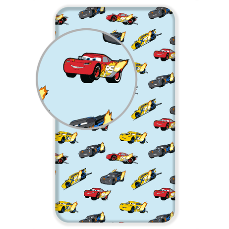 "Cars ""Madness"" fitted sheet image 1"