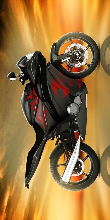 "Motorka ""Red"" osuška obrázek 1"