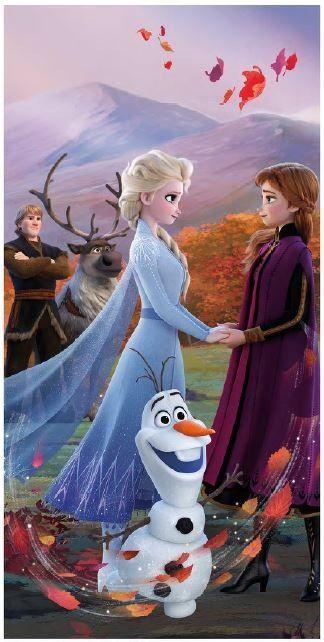 """Frozen 2 """"Wind"""" beach towel image 1"""