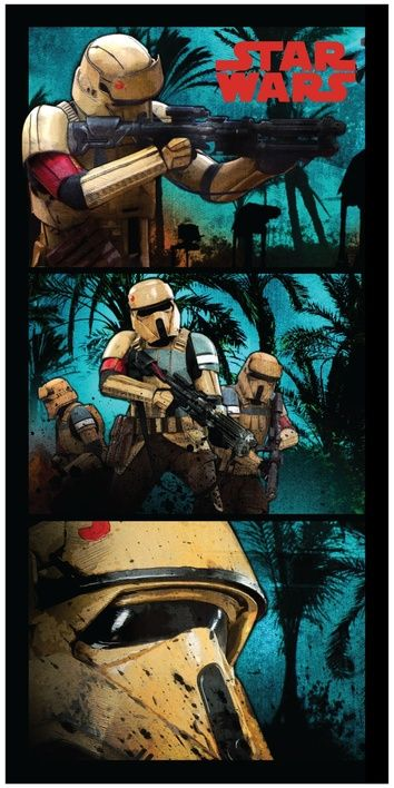 "Star Wars ""Stormtroopers"" beach towel image 1"