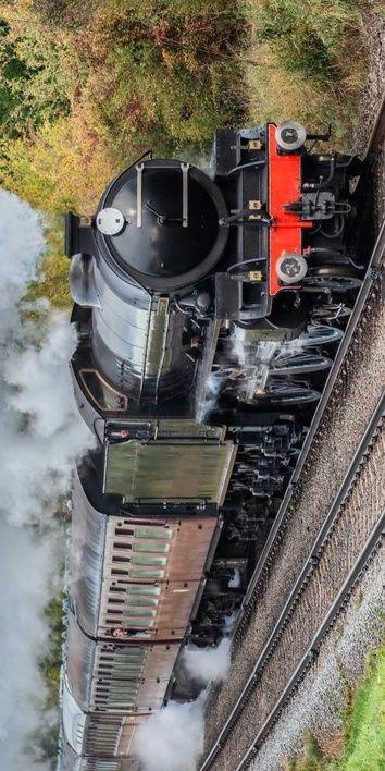 Parní vlak osuška obrázek 1