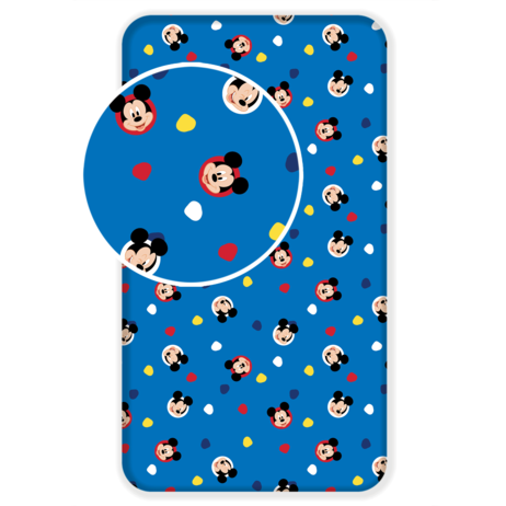 """Mickey """"004"""" fitted sheet image 1"""
