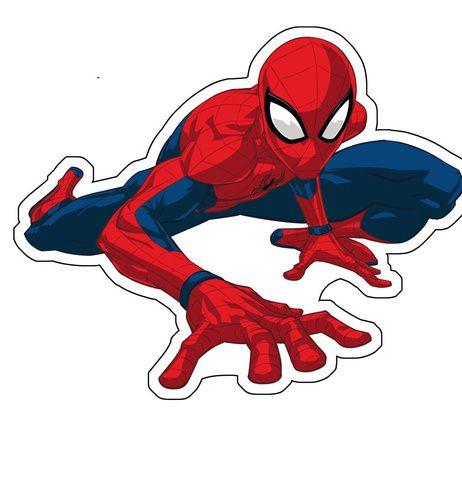 "Spider-man ""02"" shaped cushion image 1"