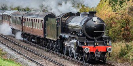 Parní vlak osuška obrázek 2