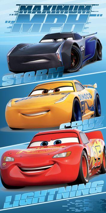 "Cars ""63MPH"" beach towel image 1"