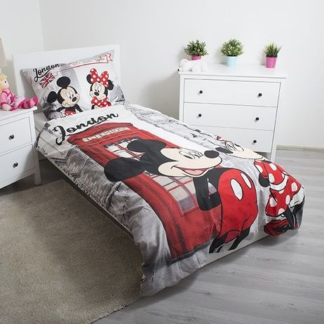 """Mickey and Minnie in London """"Telephone"""" (pillow 60 x 80 cm) image 2"""