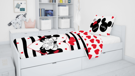 "Mickey and Minnie ""Stripes"" image 5"
