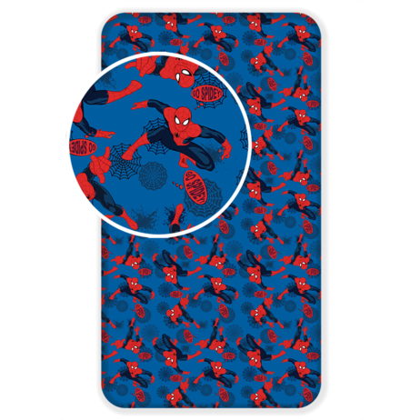 """Spider-man """"06"""" fitted sheet image 1"""
