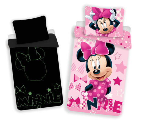 Minnie with glowing effect image 1