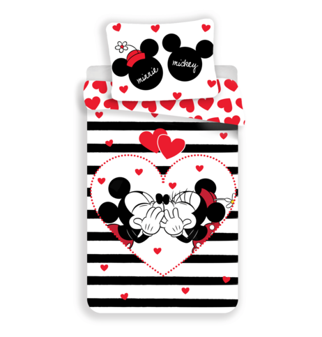 "Mickey and Minnie ""Stripes"" image 1"