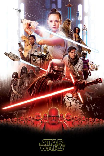 Star Wars 9 fleece blanket image 1