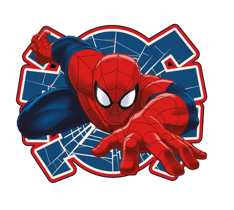 "Spider-man ""02"" shaped cushion image 1"