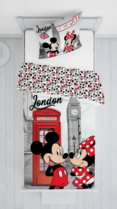 """Mickey and Minnie in London """"Telephone"""" image 4"""