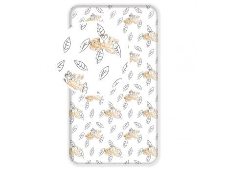 """Lion King """"Best Friends"""" fitted sheet image 1"""
