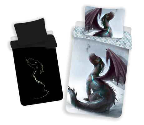 Dragon with glowing effect image 1