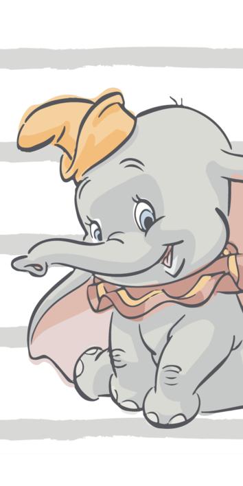 "Dumbo ""Stripe"" beach towel image 1"