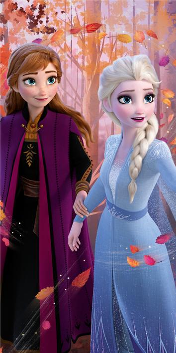 """Frozen 2 """"Forest"""" osuška obrázek 1"""