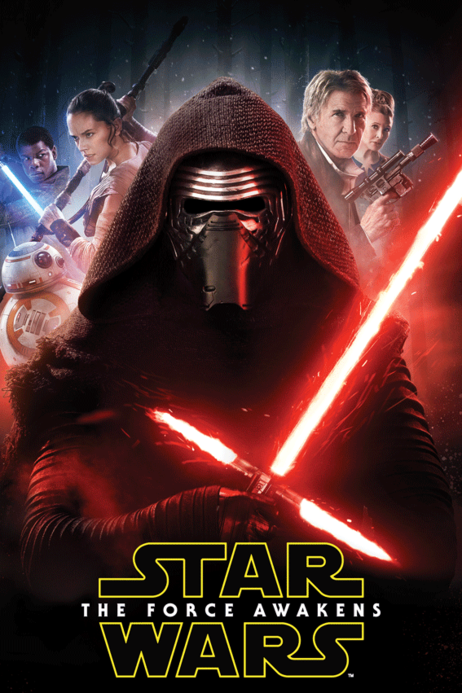 "Star Wars ""The Force Awakens"" fleece blanket image 1"