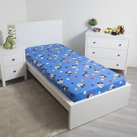"""Mickey """"004"""" fitted sheet image 2"""
