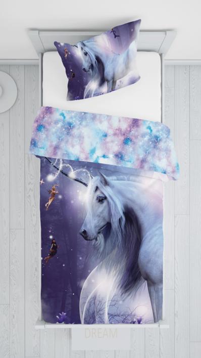 Unicorn with glowing effect baby image 2