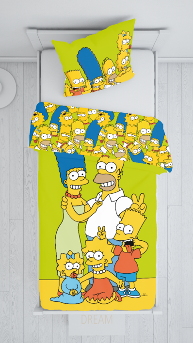 """The Simpsons family """"Green"""" image 2"""