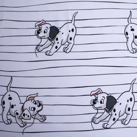 """101 Dalmatians """"Lucky Stripe"""" fitted sheet image 3"""