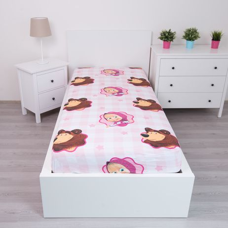 Masha and the Bear fitted sheet image 2