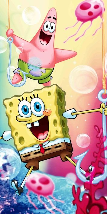 "Sponge bob ""012"" beach towel image 1"