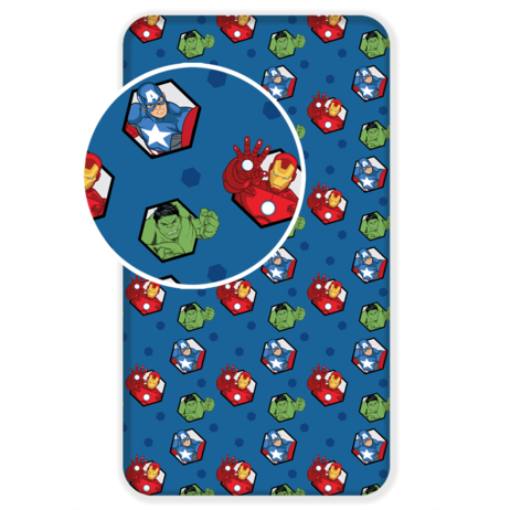 """Avengers """"03"""" fitted sheet image 1"""