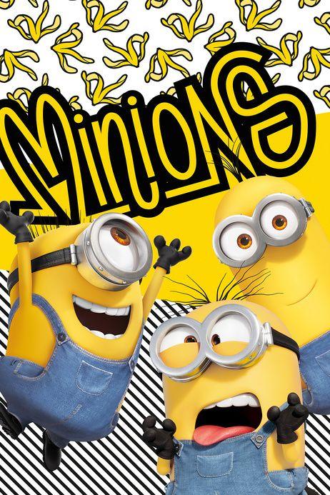 """Mimoni 2 """"Banana"""" fleecová deka obrázek 1"""