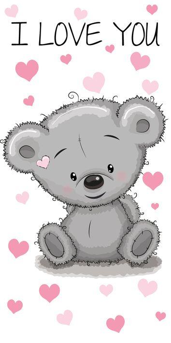 Medvídek osuška obrázek 1