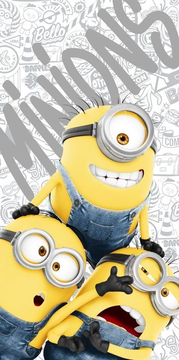 "Minions 2 ""Grey"" beach towel image 1"