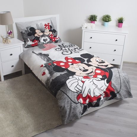 "Mickey and Minnie in New York ""Love"" (pillow 60 x 80 cm) image 4"