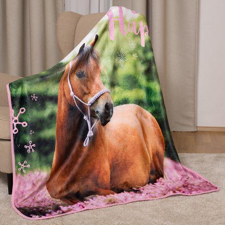 Kůň mikroflanelová deka obrázek 3