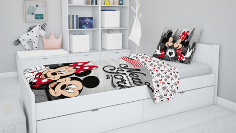 "Mickey and Minnie in New York ""Love"" (pillow 60 x 80 cm) image 3"