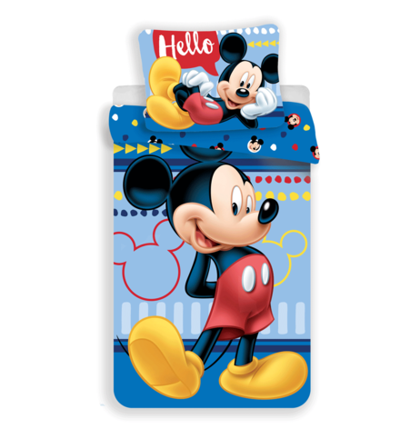 "Mickey ""004 Hello"" (pillow 60 x 80 cm) image 1"
