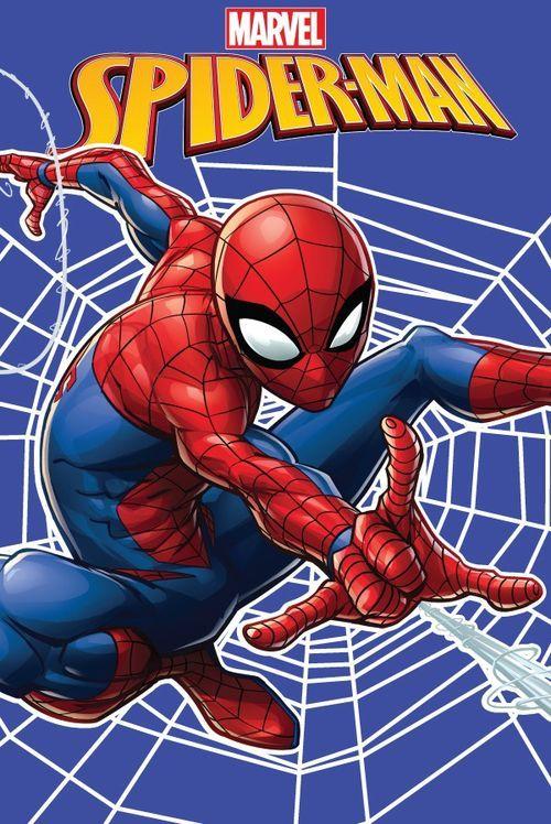 """Spider-man """"Web"""" fleecová deka"""