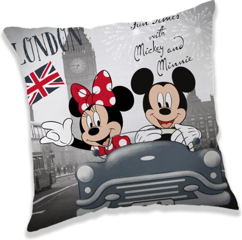 Mickey a Minnie v Londýně polštářek