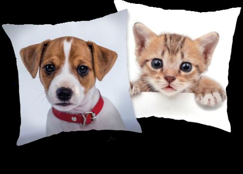 Pes / kočka polštářek s flitry