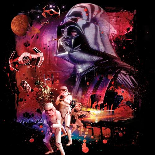 "Star Wars ""Dark Power"" povlak na polštářek"