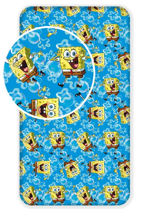 "Sponge Bob ""Blue"" prostěradlo"