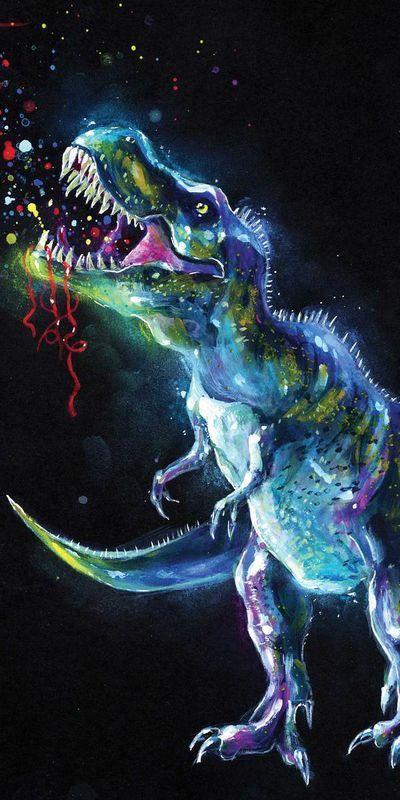 Dinosaur osuška