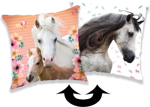 """Kůň """"Square"""" polštářek s flitry"""