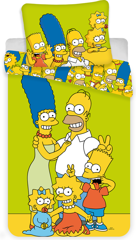"The Simpsons family ""Green"""
