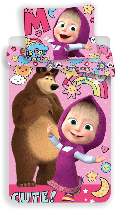 """Máša a Medvěd """"Rainbow"""""""