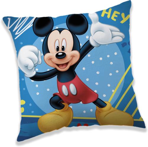 """Mickey """"Hey"""" polštářek"""